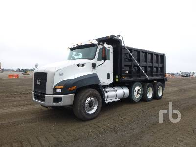 2014 CATERPILLAR CT660S Dump Truck (Tri/A)