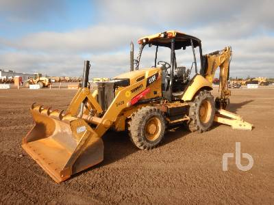 2013 CATERPILLAR 416F 4x4 Loader Backhoe