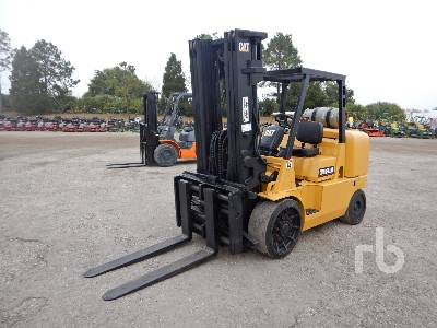 2009 CATERPILLAR GC70K 15000 Lb Forklift
