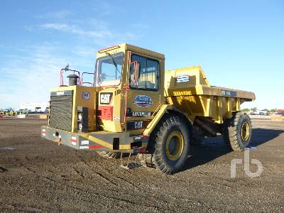 1990 CATERPILLAR D25D 4x4 Articulated Dump Truck