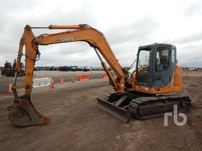2012 CASE CX80 Midi Excavator (5 - 9.9 Tons)