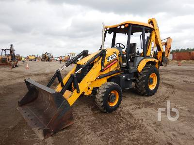 2015 JCB 3CX Loader Backhoe