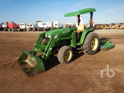 JOHN DEERE 4710 MFWD Utility Tractor