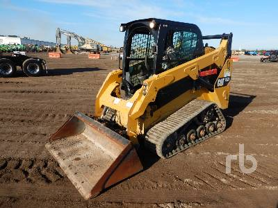 2015 CATERPILLAR 257D Multi Terrain Loader