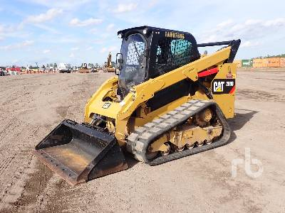 2017 CATERPILLAR 289D 2 Spd Multi Terrain Loader