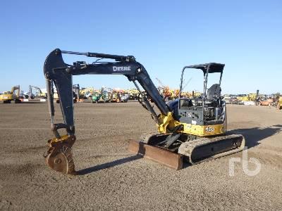 2012 JOHN DEERE 50 Midi Excavator (5 - 9.9 Tons)
