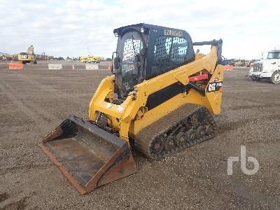 2018 CATERPILLAR 257D Multi Terrain Loader