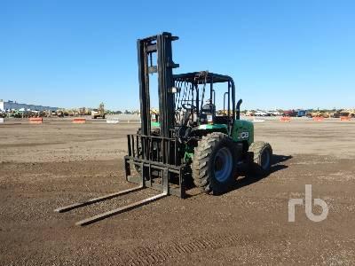 2014 JCB 930 6000 Lb 4x4 Rough Terrain Forklift