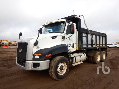 2015 CATERPILLAR CT660S Dump Truck (T/A)
