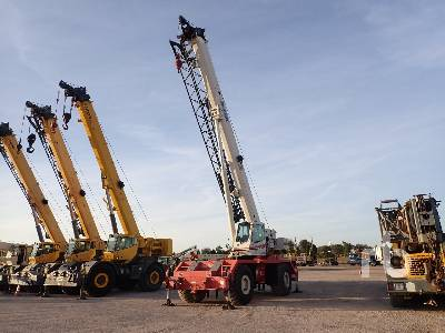 2008 LINK-BELT RTC8065 Series II 65 Ton 4x4x4 Rough Terrain Crane