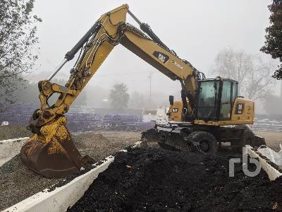 2016 CATERPILLAR M322F Mobile Excavator