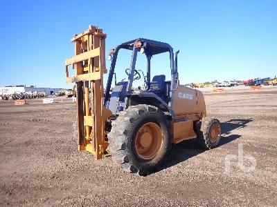 2005 CASE 585G 5000 Lb Rough Terrain Forklift