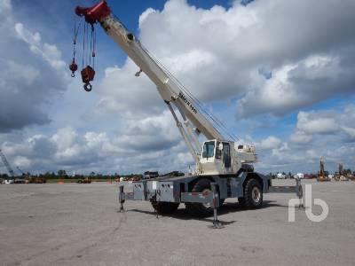 1984 BADGER 4445 45 Ton 4x4x4 Rough Terrain Crane