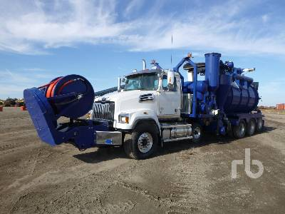 2016 WESTERN STAR 4700SF Quad/A Sewer Truck