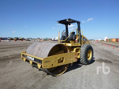 2007 CATERPILLAR CS533E Vibratory Roller