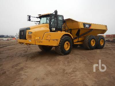 2019 CATERPILLAR 745 6x6 Articulated Dump Truck