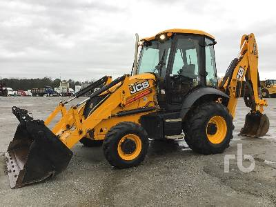 2017 JCB 3CX14-4EC Loader Backhoe