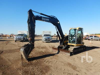 2014 JOHN DEERE 85G Midi Excavator (5 - 9.9 Tons)