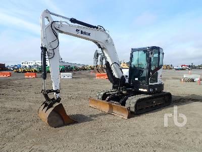 2017 BOBCAT E85 Midi Excavator (5 - 9.9 Tons)