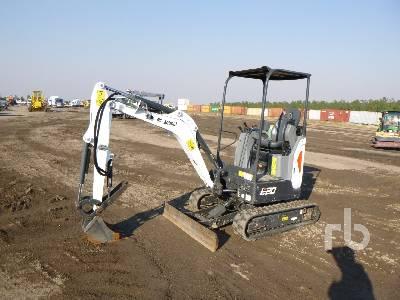 2018 BOBCAT E20 Mini Excavator (1 - 4.9 Tons)