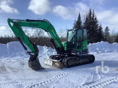 2016 BOBCAT E85 Midi Excavator (5 - 9.9 Tons)