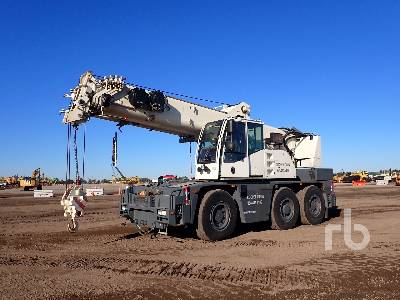 2007 TEREX-DEMAG AC40 City 40 Ton 6x6x6 All Terrain Crane