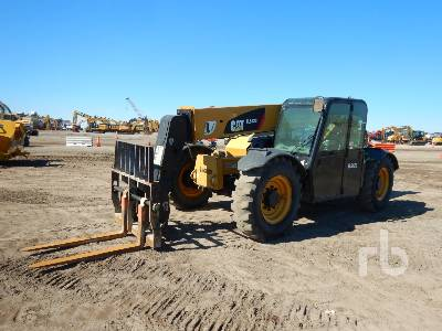 2014 CATERPILLAR TL642C 6500 Lb 4x4x4 Telescopic Forklift