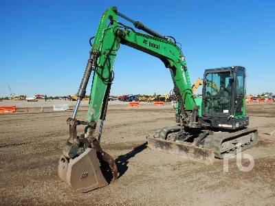 2014 BOBCAT E85 Midi Excavator (5 - 9.9 Tons)