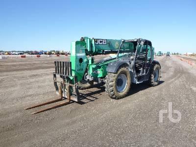 JCB 509.42 9000 Lb 4x4x4 Telescopic Forklift