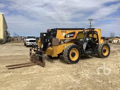 2017 CATERPILLAR TL1255D 12000 Lb 4x4x4 Telescopic Forklift