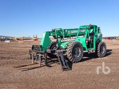 2014 JLG 10042 10000 Lb 4x4x4 Telescopic Forklift