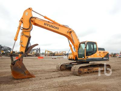 2014 HYUNDAI ROBEX 260LC-9A Hydraulic Excavator
