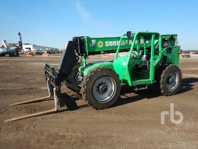 2015 JLG 8042 8000 Lb 4x4x4 Telescopic Forklift