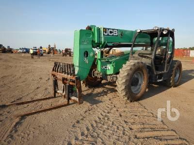 JCB 507-42 7000 Lb 4x4x4 Telescopic Forklift