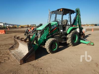 2015 JCB 3CX 4x4 Loader Backhoe