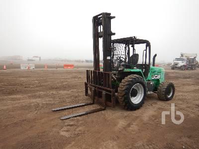 2015 JCB 930 6000 Lb 4x4 Rough Terrain Forklift