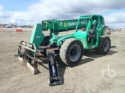 2015 JLG 10054 10000 Lb 4x4x4 Telescopic Forklift