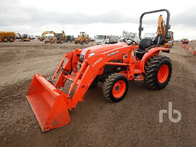 2015 KUBOTA L3901D 4WD Utility Tractor