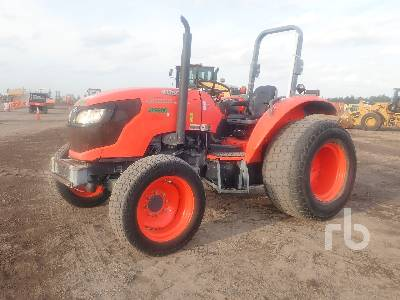 2015 KUBOTA M6060HD 4WD Utility Tractor