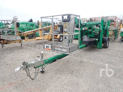 2014 JLG T500J Electric Tow Behind Articulated Boom Lift