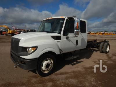 2012 INTERNATIONAL TERRASTAR Extended Cab Cab & Chassis