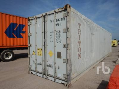 40 Ft High Cube Reefer Container