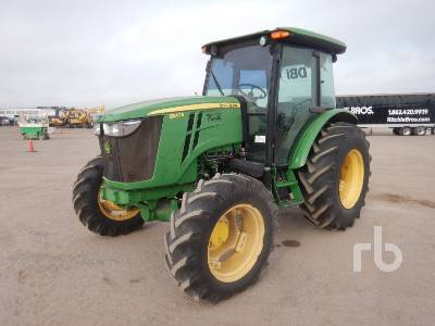 2013 JOHN DEERE 5100E MFWD Tractor