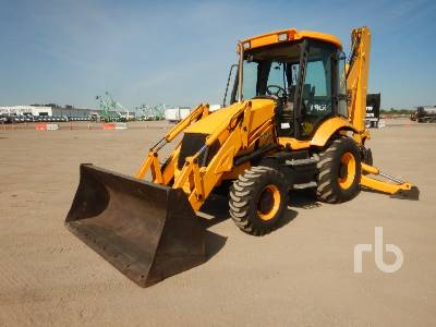 2005 JCB 215 4x4 Loader Backhoe