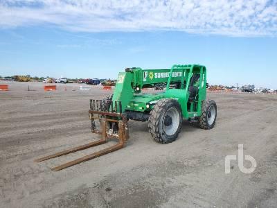 2014 JLG 8042 8000 Lb 4x4x4 Telescopic Forklift