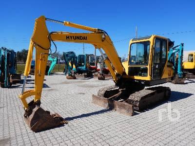 2010 HYUNDAI R60-E7 Hydraulic Excavator