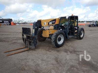 2015 CATERPILLAR TL642C 6600 Lb 4x4x4 Telescopic Forklift