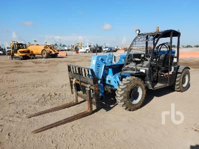 2015 GENIE GTH5519 5500 Lb 4x4x4 Telescopic Forklift