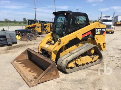 2017 CAT 279D 2 Spd Compact Track Loader