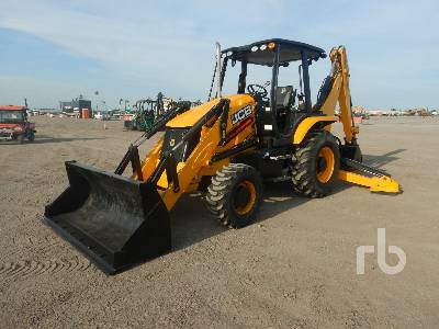 2017 JCB 3CX 4x4 Loader Backhoe